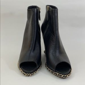Chanel 2016 CC Chain-Link Booties